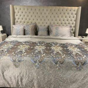 Annie's Eccentric Velvet Bed Sheet