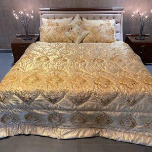 Daffodil Gold Silk Bedding Set