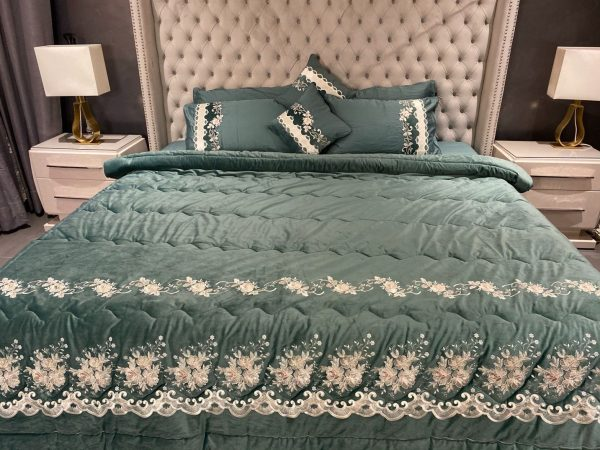 green bedsheet collection
