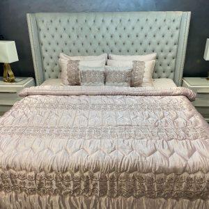 Annie's Daisy Pearl Silk Bedding Set