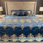 Annie's Midnight Blue Bedding Set
