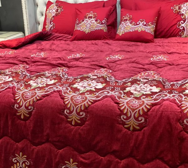 red collection bedsheet