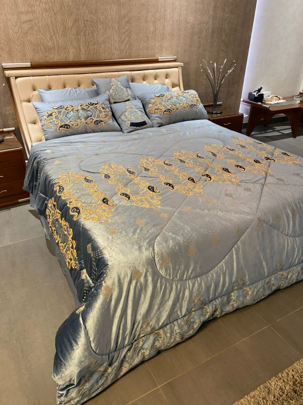 blue bedsheet collection